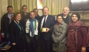 Raed with Rochdale Labour Party
