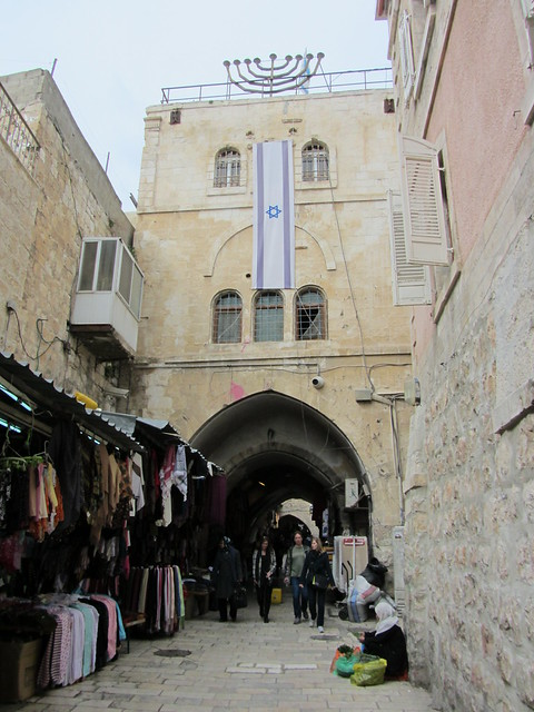 Within the city walls of East Jerusalem