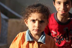children in West Bank