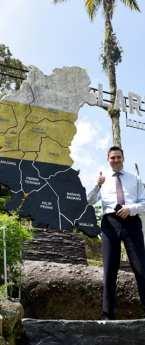 Ukraine Ambassador Olexander Nechytaylo visit Taiping