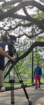 "Filming ""Great Railway Journeys"" by BBC London in TAIPING"