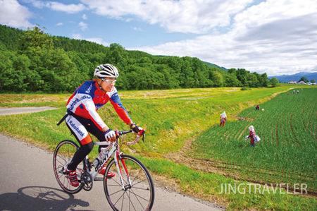 吃貨單車手!北海道富良野地球單騎Furano EARTH Ride