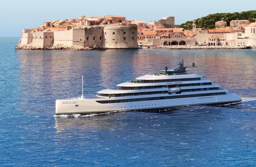 歐洲豪華河輪Emerald Waterways(翡翠河輪)進軍奢華遊艇市場 第1艘遠洋超級遊艇Emerald Azzurra華麗亮相!2021年7月啟航!