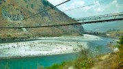 The Longest Suspension Bridge of Bhutan