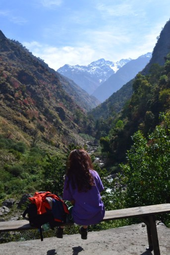 One of the most amazing view of Langtang Mountain along with the village of Langtang. The village of Langtang was completely swiped away by a massive earthquake in April 2015 which was only a week after my visit there.