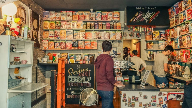 Cereal Killers. Cute little breakfast place. How Expensive is London?