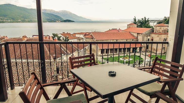 Lukanov Apartments, Ohrid. Travel Budget for Macedonia