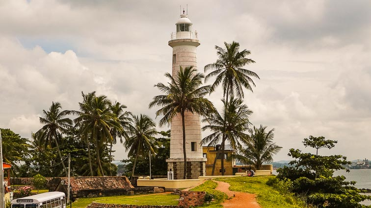 Things to do in Sri Lanka. Lighthouse in Galle