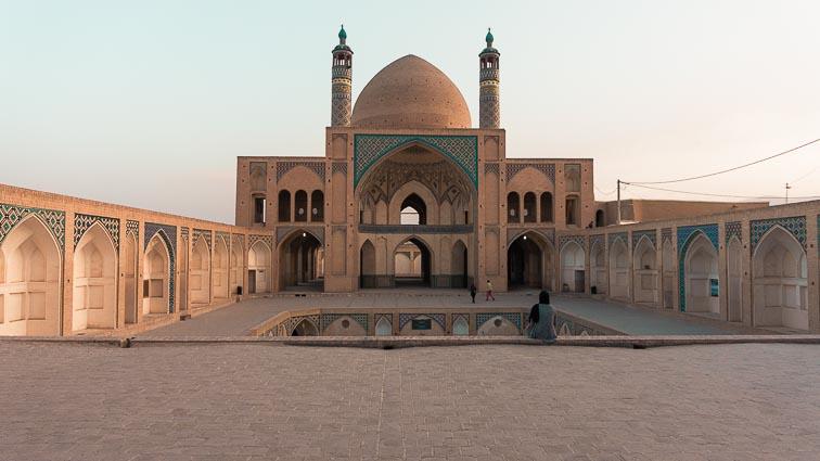 Laws in Iran. Mosk in Kashan