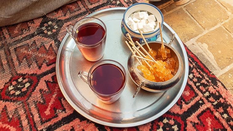 Backkpacking in Iran. Tea