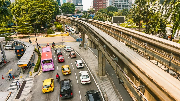 Things to do in Kuala Lumpur. Free Go KL busses