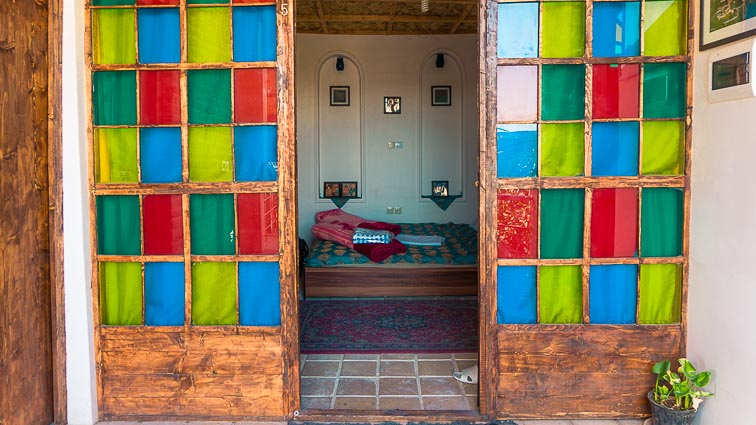 Raz Traditional Guesthouse, Shiraz, Iran. How expensive is Iran to Travel? Cost of travel in Iran.