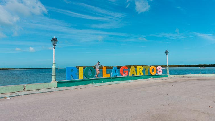 Letters of Rio Lagartas, Las Coloradas, Mexico