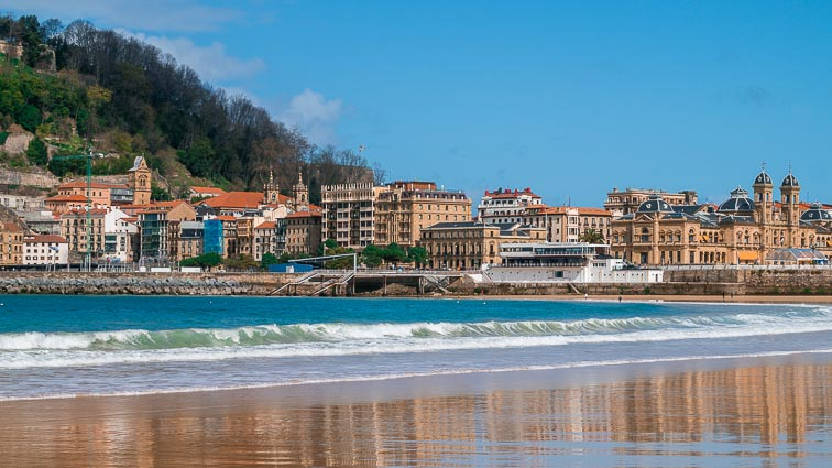 San Sebastián's three beaches