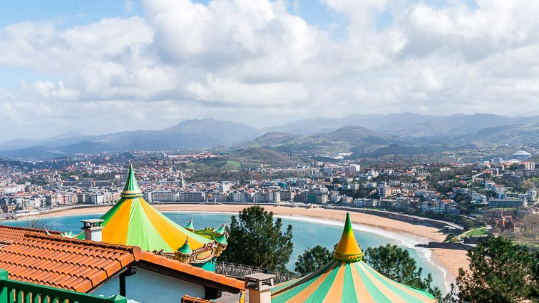 Theme Park on Monte Igueldo in San Sebastián