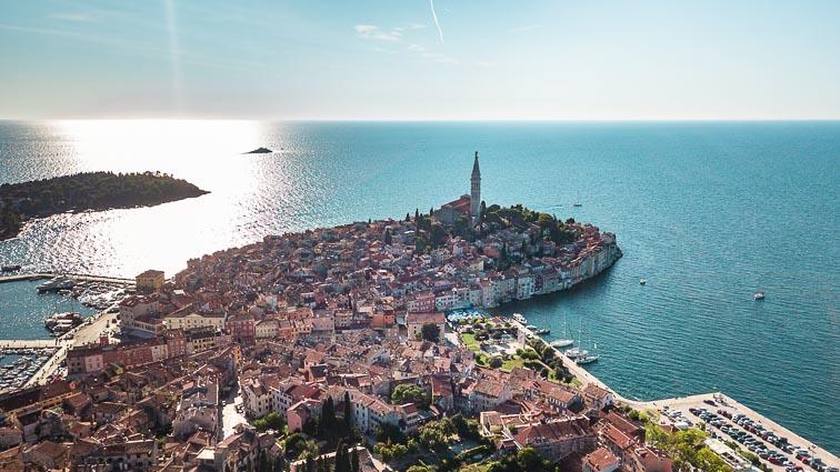 Rovinj, a pittoreske town in Kroatia. Things to do in Kroatia
