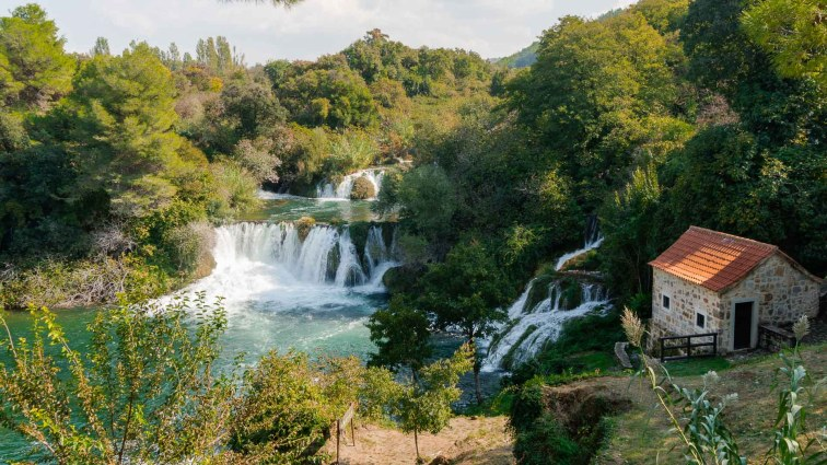 Krka National Park. A nice place to visit and one of the best things to do in Kroatia