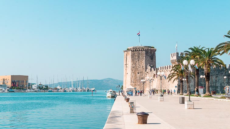 Promenade of Trogir