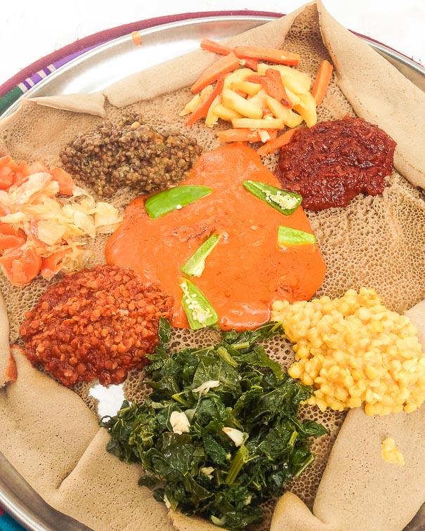 Bejenatu, an Ethiopian dish
