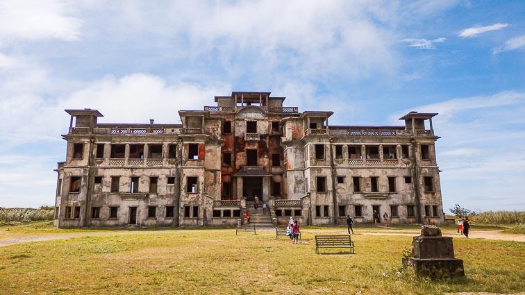 Ghost town Bokor near Kampot, Cambodia