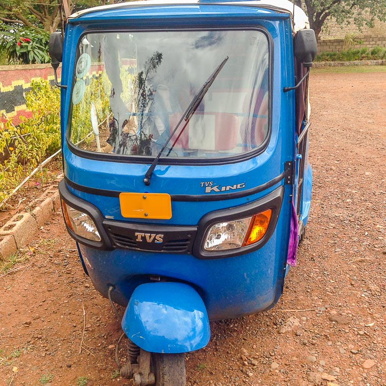 Bajaj, the Ethiopian tuktuk