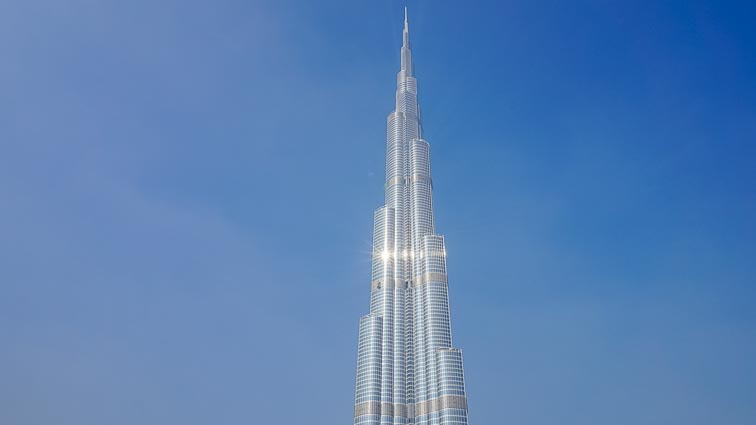 Burj Khalifa during daylight