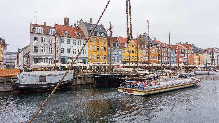 Boats in Nyhavn, Copenhagen