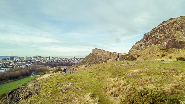 Arthur's Seat. Is Scotland Expensive?
