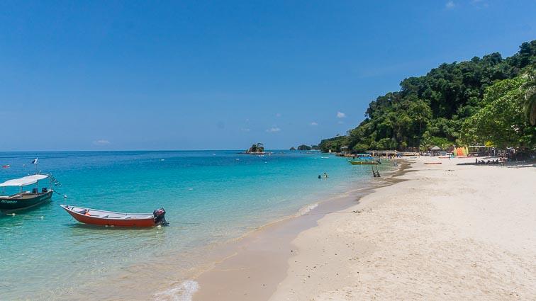 The beach of Pulau Kapas