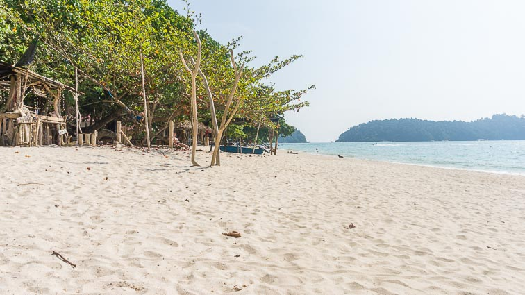 The breach on Pulau Pangkor