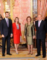 spanish royal family 2009