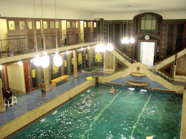 swimming pool inside Residence Palace