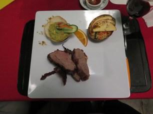 Gourmet hostel food