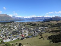 Wanaka from above