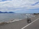 Biking the coast