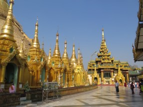 Inside Shwedagon
