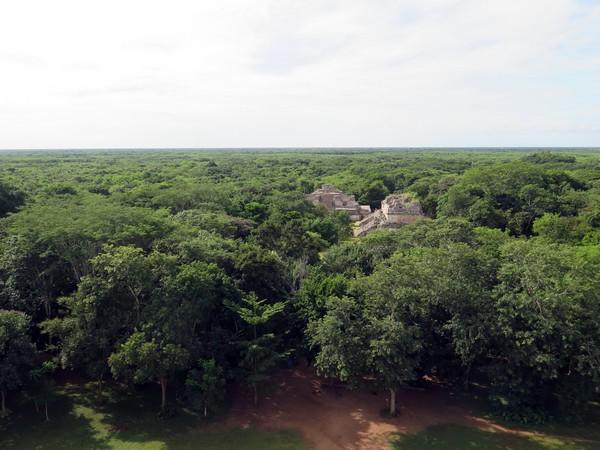 Ek Balam in the jungle