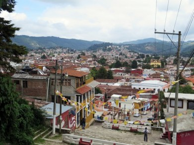 San Cristobal from above