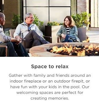 space to relax