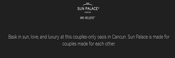 Sun Palace Adults Only