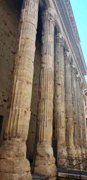 Roman Marble Pillars