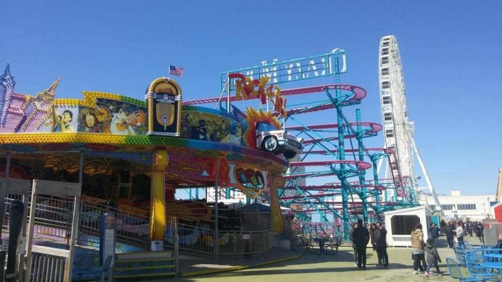 amusement park rides, Steel Pier, family fun