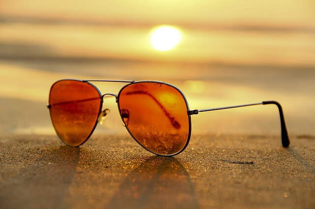 sunglasses, beach vacation, protect your eyes