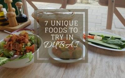 7 unique foods to try in Dubai