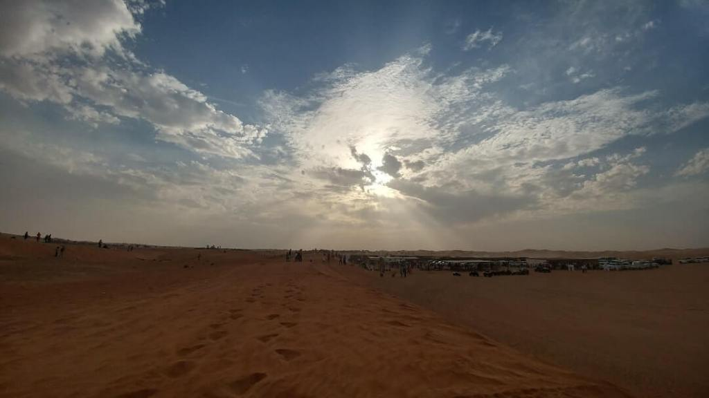 safari camp, amazing sky, desert safari