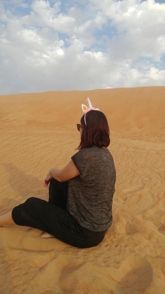 unicorn, sand, dunes