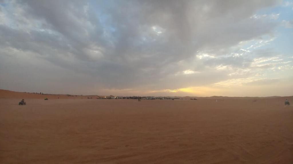 desert, sand, amazing sky