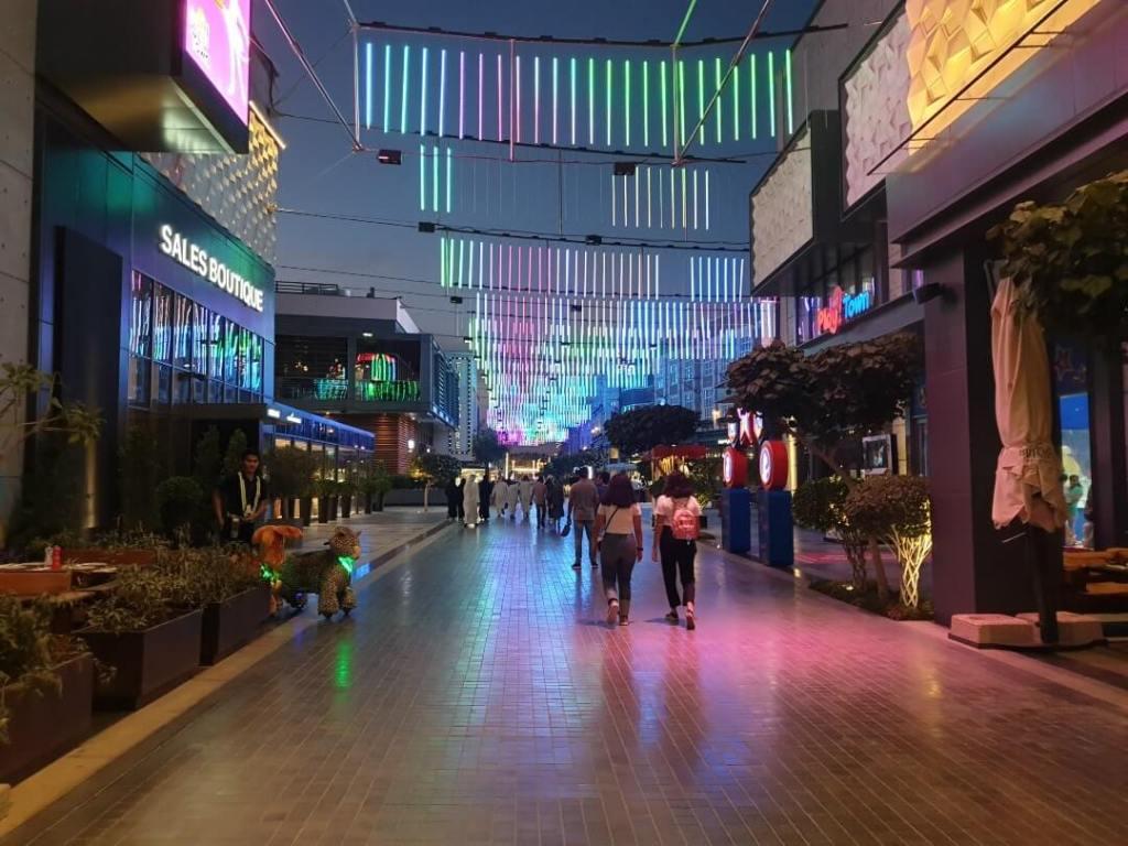 city walk, Dubai, mall