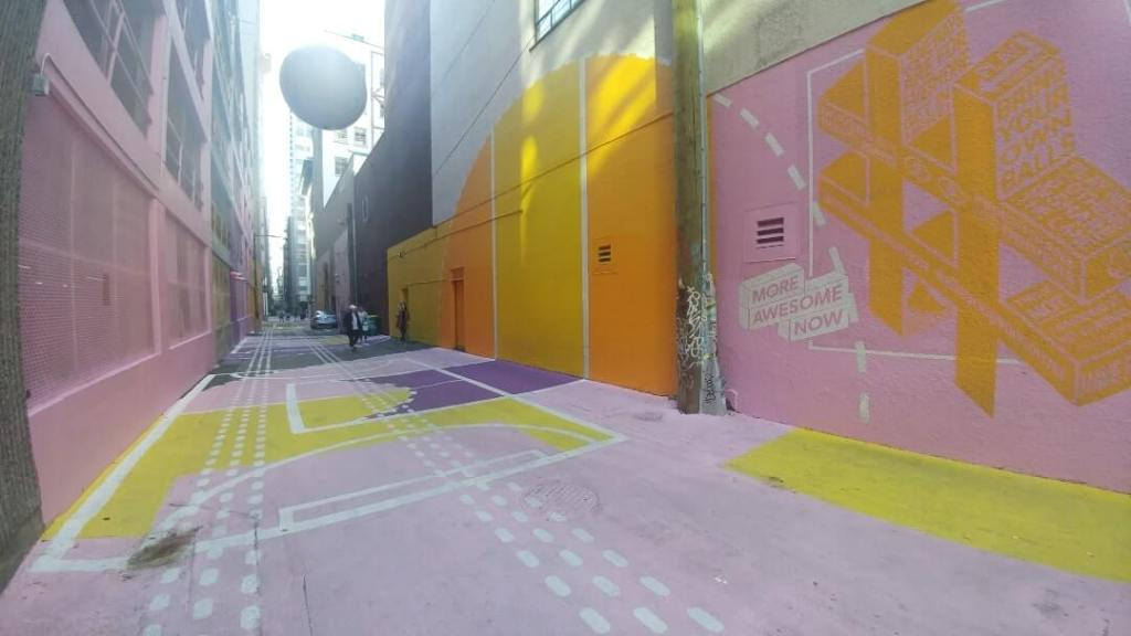 pink alley, Vancouver