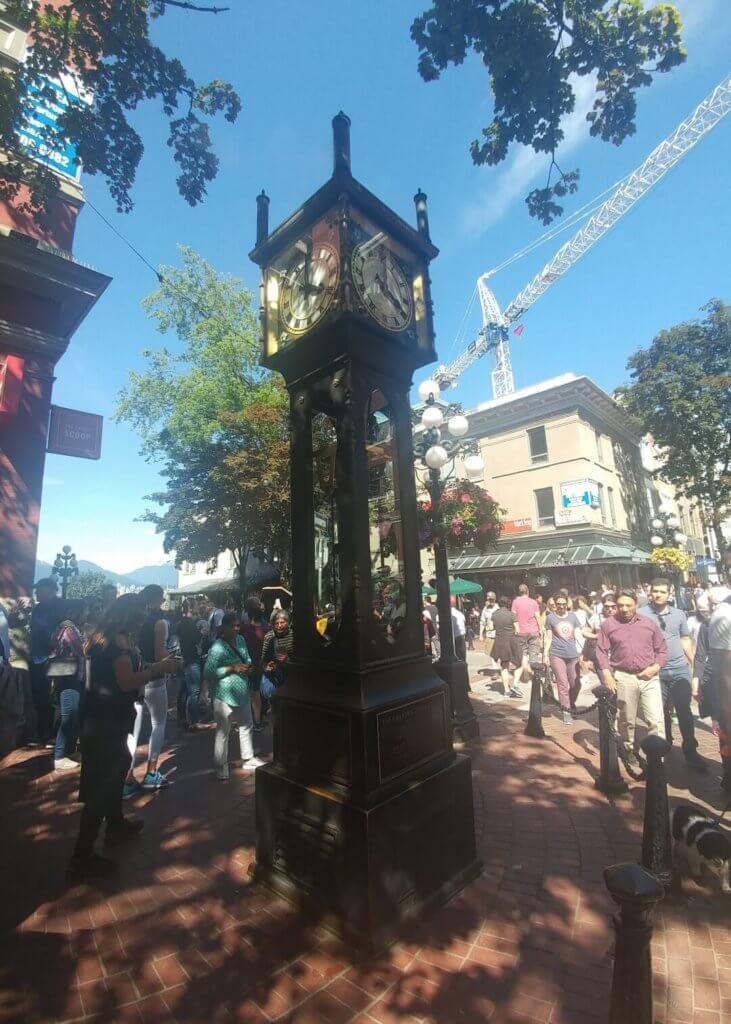 steam clock, Gastown, clock, Vancouver